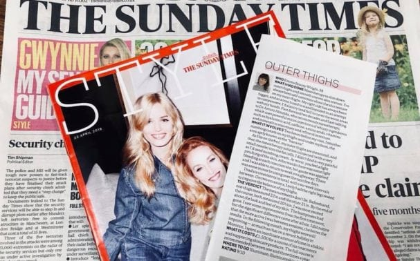 Illuminate awarded top marks in Sunday Times Style article