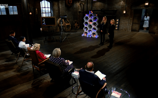 Tancream Stars in BBC TV Show Dragons' Den