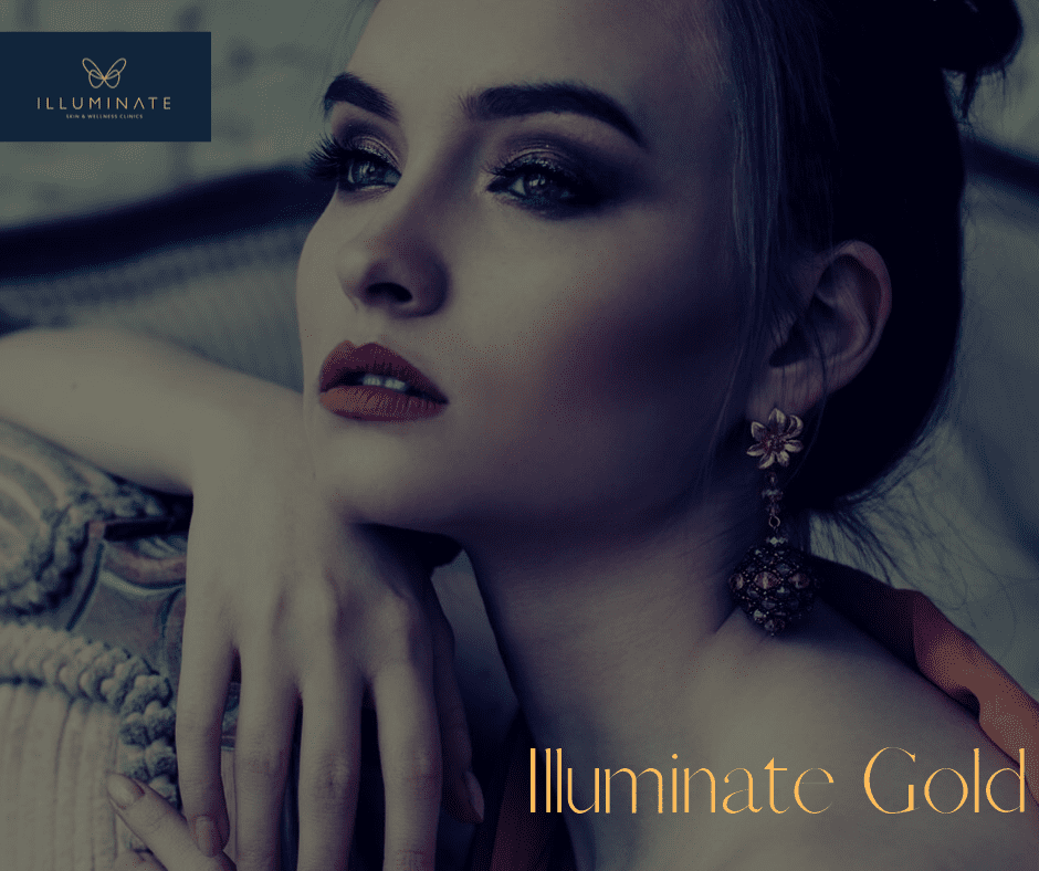 "Introducing Illuminate Gold – a special one-year ""tailor-made"" skin treatment package with manageable monthly payments"