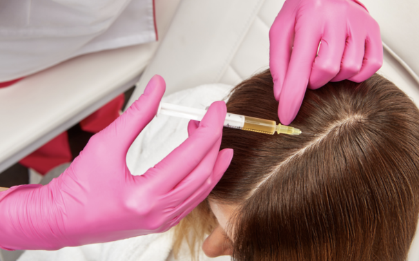 Can PRP be used to enhance hair transplant results?